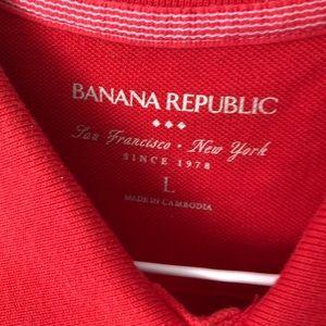 Banana Republic Shirts - EUC Banana Republic Pique Polo